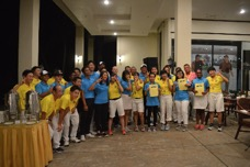 東北高等学校ゴルフ連盟代表・Permas Jaya Golf Academy Junior Golfers